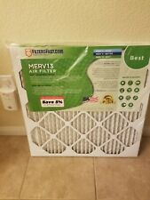 Hvac air filters Merv 13, 22x22x1