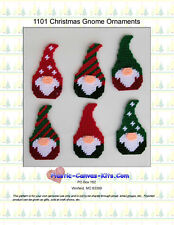 Gnome Christmas Ornaments-Plastic Canvas Pattern or Kit