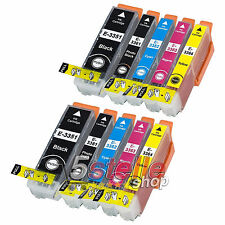 KIT 10 CARTUCCE XL PER EPSON XP530 XP630 XP635 XP640 XP645 XP830 XP900 REMAN