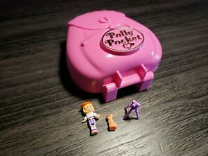 1996 Polly Pocket Bluebird - Jungle Adventure - NEAR COMPLETE, FUNCTIONAL!