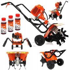 Benzin Motorhacke 3 PS Gartenfräse Bodenfräse Selbstantrieb Bodenhacke M83260