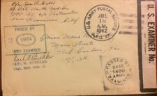APO 37 June 18,1945 Envelope rarely visible. Unusual 37 AG Medical Det, 112th