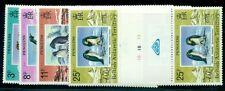 BRITISH ANTARCTIC TERR #72-5 Penguin set, gutter pairs, og, NH, VF, Scott $45.00