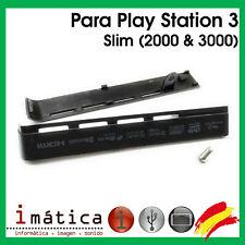 TAPA DISCO DURO CONSOLA SONY PLAY STATION 3 SLIM PS3 HDD CARCASA 2000 3000 SLOT