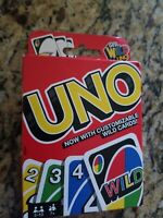 UNO Classic Card Game Get Wild 4 Uno Customizable Wild Cards Family New