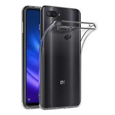 Transparent Cover für Xiaomi Mi 8 Lite Handy Hülle Silikon Case Schutz Tasche