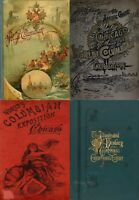 160 RARE OLD BOOKS ON THE CHICAGO WORLD'S FAIR COLUMBIAN EXPOSITION 1893 ON DVD