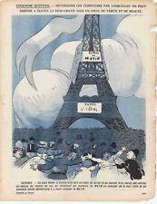 L'assiette au beurre 301 1907 L'éducation de la démocratie Radiguet Matin Presse