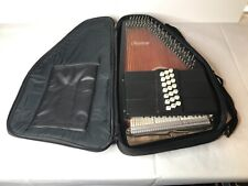 Oscar Schmidt OS21C Autoharp with padded case