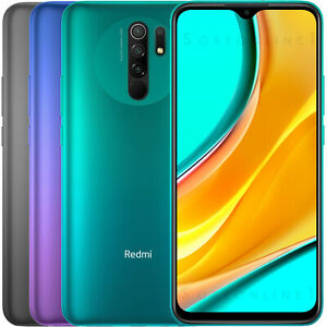 "Xiaomi Redmi 9 32GB 3GB RAM (FACTORY UNLOCKED) 6.53"" 5020 mAh Dual SIM (Global )"