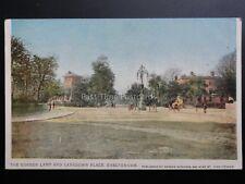Cheltenham The Gordon Lamp & Lansdown Place - Old Postcard Pub by Horace Edwards