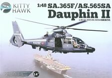 Kitty Hawk 1/48 Hawk SA.365F/AS.565SA Dauphin II #80108 *Sealed*