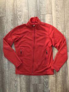 Patagonia Men's R1 Medium Full Zip in Red