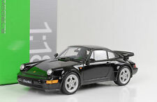 1990 Porsche 911 964 turbo Black negro 1:18 Welly
