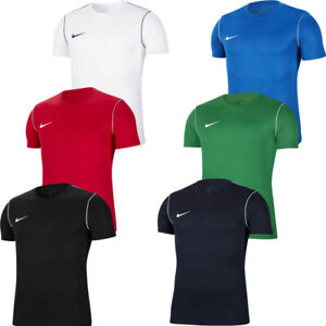 Nike Mens Football Jersey T Shirt Park 20 Gym Sports Tops TShirt T-Shirt Size