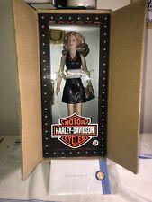Harley Davidson Doll - Dakota - Franklin Mint - New