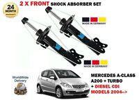 Per Mercedes A200 T- A160 A180 CDI 2004- > 2X Anteriore SX Ammortizzatore Dx Set