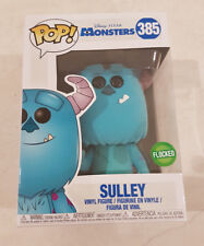 Monsters Inc - Sulley FLOCKED EXCLUSIVE Pop Vinyl Figure *MINT* RARE (IN HAND)