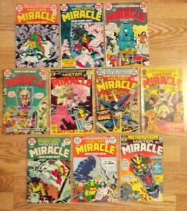 Mister Miracle # 1, 3, 8, 9, 10, 13, 14, 15, 17, 18, set of 10 DC Comics