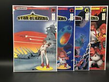 Star Blazers #'s 1-4 Complete Comico Limited Series 1987 Tv comics