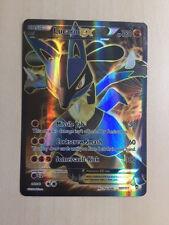 Pokemon Lucario EX FULL ART XY-Fliegende Fäuste 107/111 TCG selten, englisch!