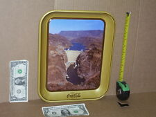 HOOVER DAM - 1935-1985 - 50th Anniversary Tray Sign - VINTAGE COKE 32 Years Old