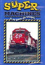 Super Machines - A La Gare De Triage (BRAND NEW DVD!)FRENCH LANGUAGE