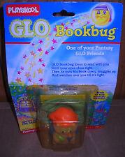 #8203 NRFC Vintage Playskoo Glo Friends Glo Bookbug Glow in the Dark Figure