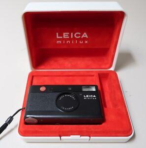 Leica Minilux Kamera Summarit 1:2,4 40mm, mit Box