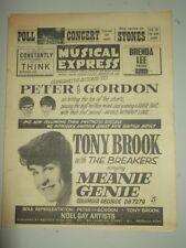 NME #903 MAY 1 1964 TONY BROOK BRENDA LEE CLIFF RICHARD ROLLING STONES BEATLES