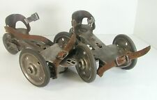 Early 1900S Museum Quality Hiker Manufacturing Company Three Wheel Roller Skates