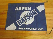 Vintage  DATSUN / ROCH WORLD CUP Downhill Ski Gate  Flag