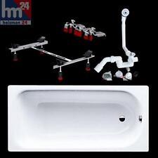 Kaldewei Badewanne Saniform Plus 180x80 Set 375-1 mit Ablauf Füße 112800010001