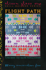 Quilt Pattern ~ FLIGHT PATH - SKILL BUILDER SERIES ~ Mary Menzer + Alison Glass
