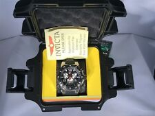 Invicta Speedway Men Chronograph Black Silicone Stainless Steel  Watch 22235 87