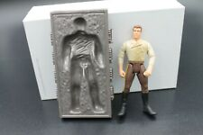 Star Wars unique Han Solo in carbonite figure from 1998 Jaba's Palace playset