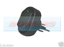 12v Voltios Led Verde Iluminado Mini Oval interruptor de encendido/apagado de alquiler de van Tablero