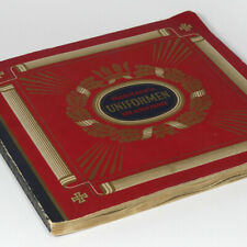 German Imperial Army Uniforms 1914 Pickelhaube pre WWI WW1 Book Cigarette Album