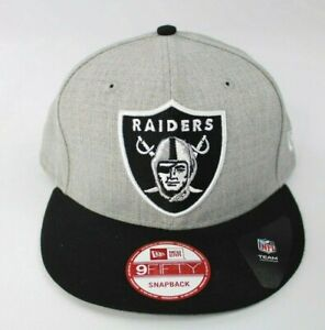 Raiders New Era Hat Two Tone One Size Fits Most