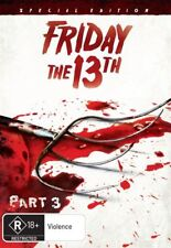 Friday The 13th - Part 3 DVD HORROR THRILLER BRAND NEW R4