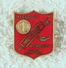 Army DI Pin:  Missouri Military Academy - pb, Meyer