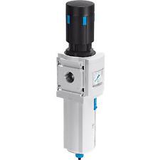 "Festo, MS6N-LFR-1/2-D7-ERM-AS, Filter Regulator, 1/2"" Npt, 40µm, Manual, 531270"