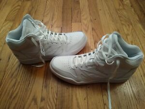 Reebok Royal Mens Leather Casual High Top Sneakers Shoes Size 14