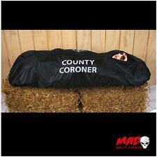 Il coroner Body Bag HALLOWEEN DECORAZIONE HORROR OBITORIO Scena del crimine Prop grandezza naturale