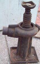 Vintage Iron Auto Car Jack > Antique Farm Tractor Truck Tool Jacks Tools