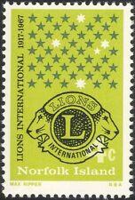 Norfolk Island 1967 Lions Club International/Welfare/Education/Health 1v (b210s)