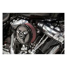 S&S Stealth Luftfilter TriSpoke Schwarz f. Harley-Davidson Softail/Touring 18-20
