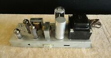MAGNAVOX STEREO TUBE AMPLIFIER SE SINGLE ENDED 196-00 CHASSIS