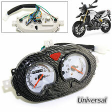 Universal Motorcycle Dual Speedometer Odometer with Cable Scooter Speed Pointer