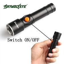 10000Lumens XML T6 LED Mini Rechargeable AA Battery Flashlight Torch Lamp Light